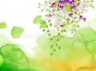 زهور رسم يدوى-3375