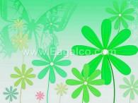 زهرة البابونج الخضراء-3386